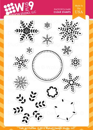 Folk Art Flurries Stamp Set