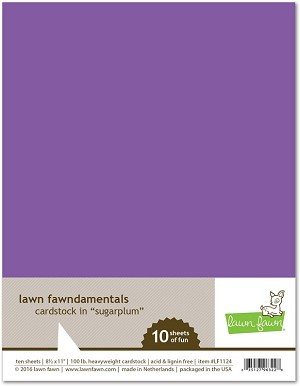 8.5 x 11 Cardstock Sugarplum
