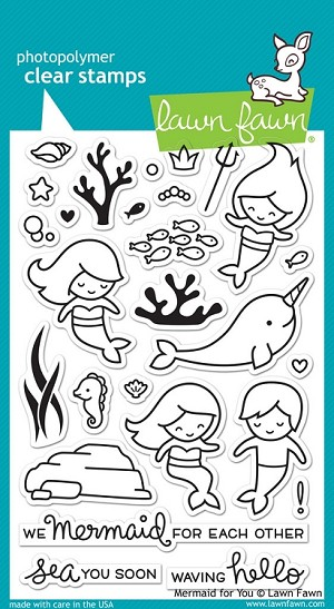 Mermaid for You Stamp Set