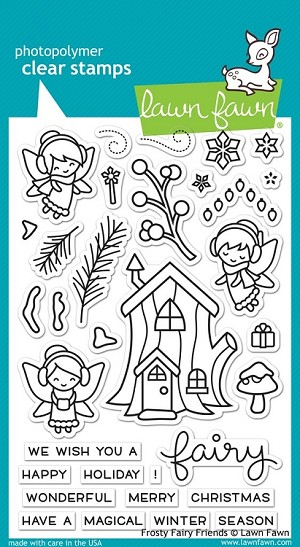 Frosty Fairy Friends Stamp Set