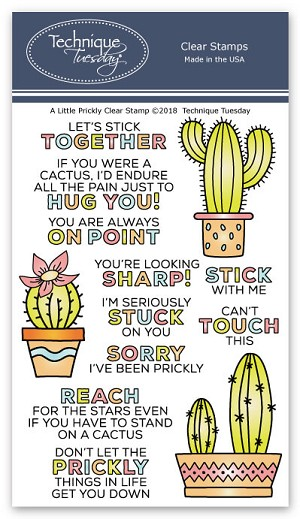 A Little Prickly Stamp Set