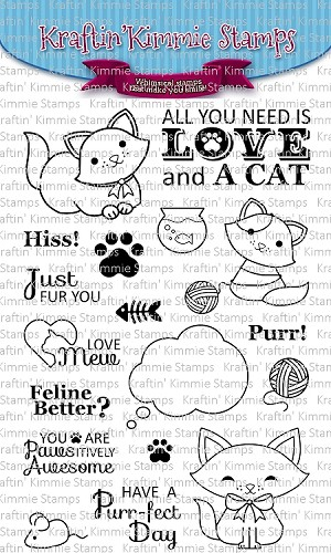 A Purr-Fect Day Stamp Set