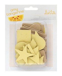 Cut & Paste Bits Chipboard Pieces