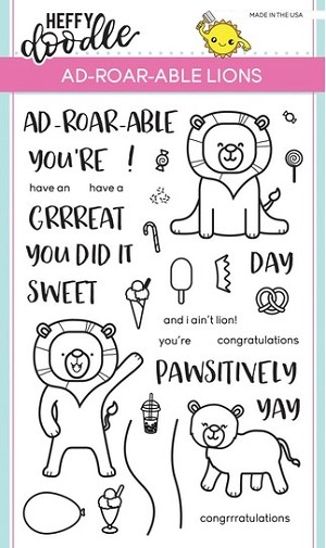 Ad-Roar-Able Lions Stamp Set