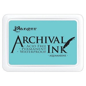 Archival Ink Pad - Aquamarine