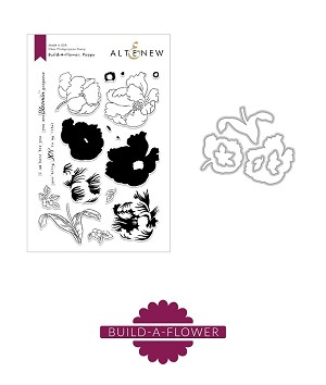Build-A-Flower: Poppy Stamp & Die