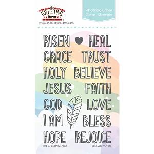 Blessed Words Stamp Set