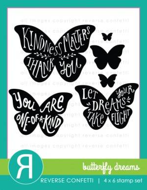 Butterfly Dreams Stamp Set