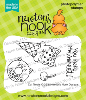 Cat Treats Stamp Set