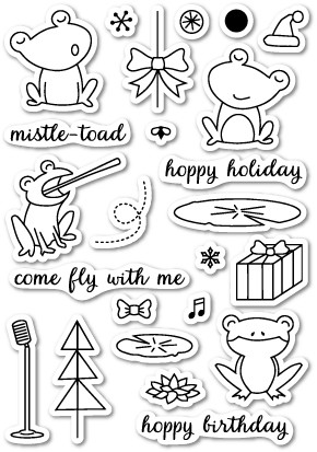 Hoppy Holidays Stamp Set