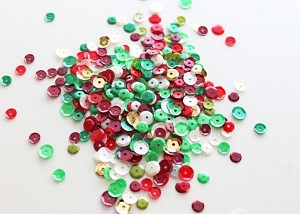 Sequin Mix Classic Christmas