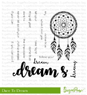 Dare To Dream Stamp Set