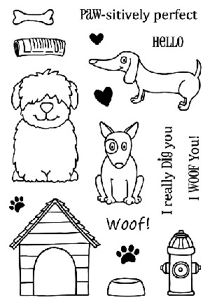 Dogs Stamp Set