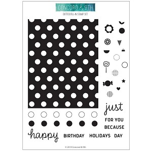 Dotted Fill-In Stamp Set