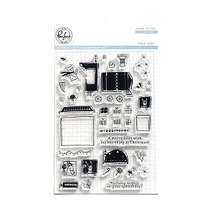Train Ride Stamp Set