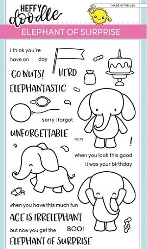 Elephant of Surprise Stamp Set