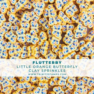 Flutterby - Orange Butterfly Sprinkles