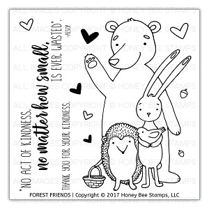Forest Friends Stamp Set