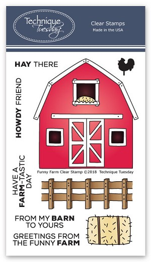 Funny Farm Stamp Set