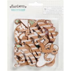 Hazelwood Cork Die Cuts