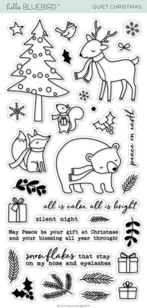 Quiet Christmas Stamp Set