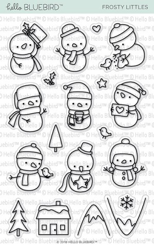 Frosty Littles Stamp Set