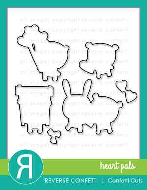 Heart Pals Confetti Cuts
