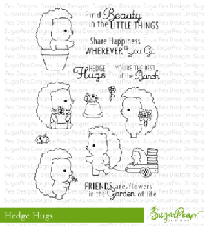 Hedge Hugs Stamp Set