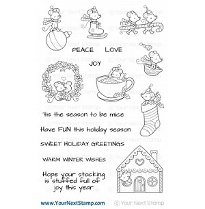 Holiday Mice Stamp Set