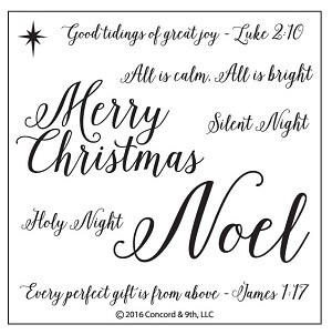 Holy Night Stamp Set