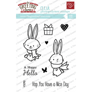 Hoppy Hello Stamp Set