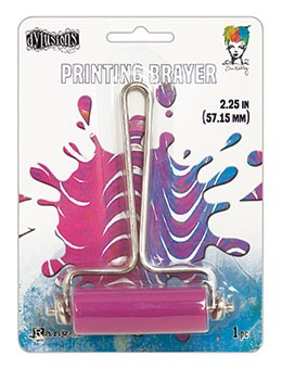 Gel Plate Brayer - Small Pink Roller