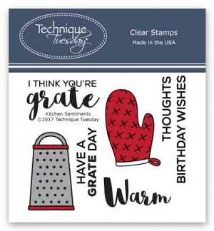 Kitchen Sentiments Stamp Set