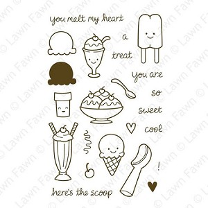 Here's the Scoop Stamp Set