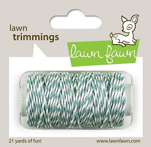 Lawn Trimmings Twine - Sky