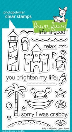 Life is Good Stamp Set