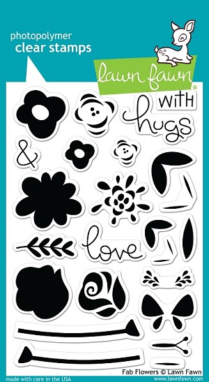 Fab Flowers Stamp Set