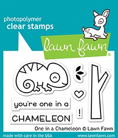One In A Chameleon Stamp Set