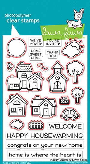 Happy Village Stamp Set