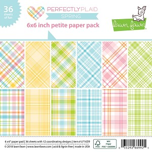 Perfectly Plaid Spring 6X6 Paper Pad
