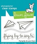Flying By Stamp Set