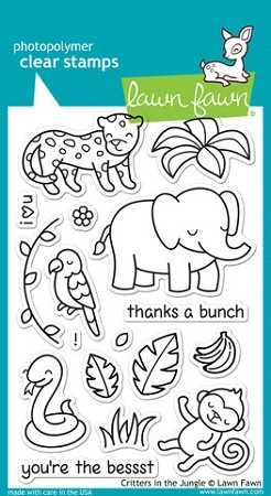 Critters in the Jungle Stamp Set