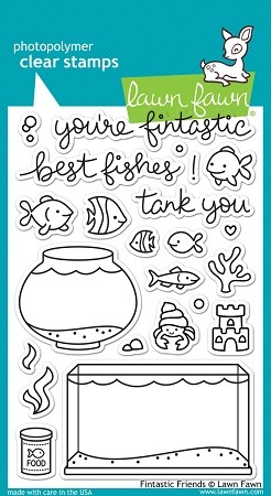 Fintastic Friends Stamp Set