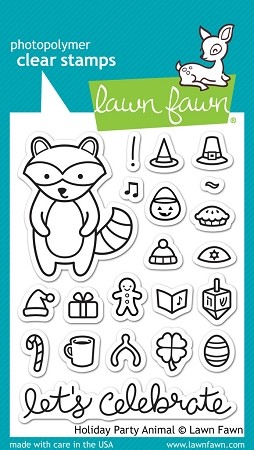 Holiday Party Animal Stamp Set