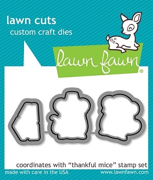 Thankful Mice Lawn Cuts
