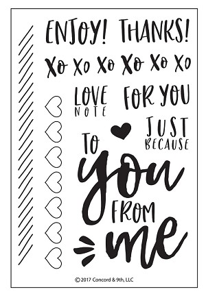 Love Notes Stamp Set