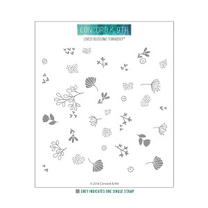 Lovely Blossoms Turnabout Stamp Set
