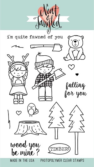 Lumberjack Love Stamp Set