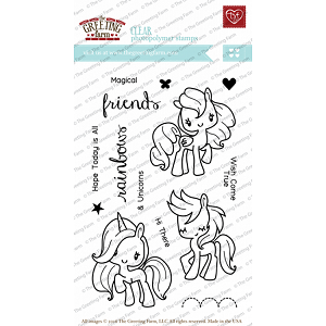 Magical Friends Stamp Set
