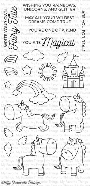Magical Unicorns Stamp Set